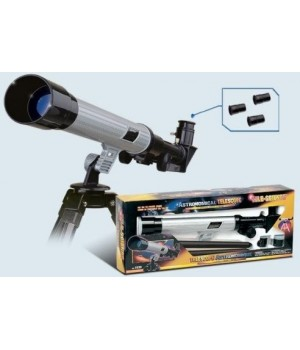 Телескоп  1020 20х,30х,40х со штативом
