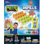Запасной материал для жуков - оранжевые светло-зеленые