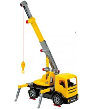 Автокран желтый 70 см