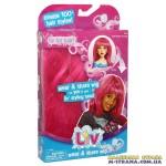 Парик для девочек в стиле Liv розовый
