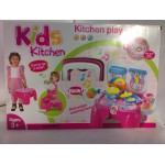 Игровой набор 2в1 Кухня-стульчик без коробки 008-98A