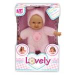 Пупс с мягким телом Tiny Baby в розовой одежде 98020