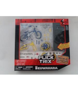 Фингербайк набор Flick Trix серия Bike Shop Kuwahara