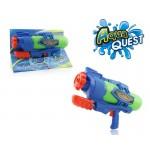 Пистолет по производству мыльных пузырей , имеет 2 функции-мыльные пузыри и водная струя (120 мл), 2 цвета