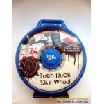 Кейс для хранения фингербордов в виде колеса Tech Deck Sk8 Wheel - синий