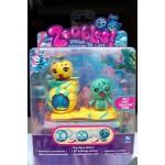 Набор Zoobles Twobles Zeena 95, Leon 96