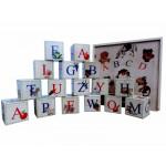 Деревянные кубики с Русским алфавитом. K16ru