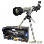HD Телескоп со штативом Eastcolight 100 Power HD Telescope Серого цвета