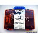 Чемодан для хранения фингербордов Carrying Case Tech Deck - оранжевый синяя ручка