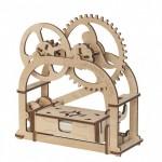 Механические 3Д пазлы модель Трактор