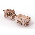 Механические 3Д пазлы модель Комбайн