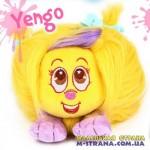 Мягкая игрушка Yengo Shnooks с расческой и аксессуарами - желтый с сиреневой челкой