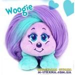 Мягкая игрушка Woogie Shnooks с расческой и аксессуарами - сиреневый с зеленой челкой