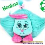 Мягкая игрушка Nookoo Shnooks с расческой и аксессуарами - зеленый с розовой челкой