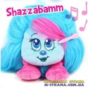 Мягкая игрушка Shazzabamm Shnooks с расческой и аксессуарами - голубой с розовой челкой
