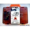 Чемодан для хранения фингербордов Carrying Case Tech Deck - серый оранжевая ручка
