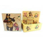 Деревянные кубики-пазлы K9paz