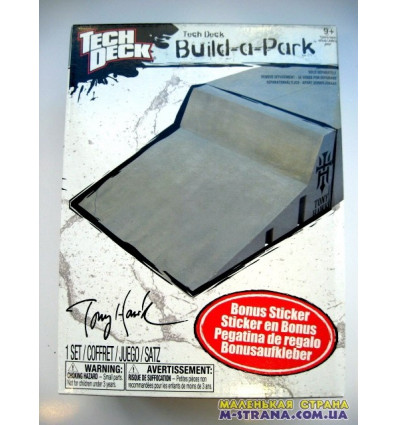 Набор для скейтпарка Tech Deck Build-A-Park Wall Ride