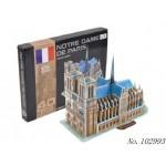 Пазл 3D Собор Парижской Богоматери