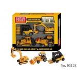 Набор строительной техники Die Cast 93124