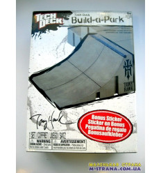 Набор для скейтпарка Tech Deck Build-A-Park Quarter Pipe
