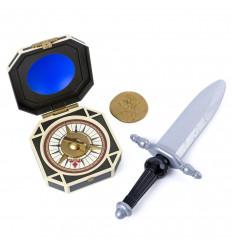 Шпага капитана  Джека Воробья с компасом (SM73104-2)