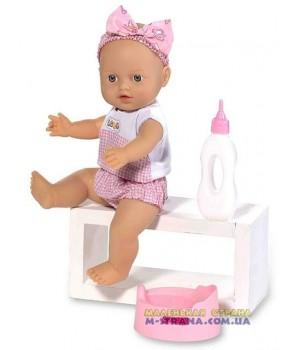 Пупс писающий резиновый Le Petit bebe в розовой одежде