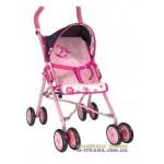 Коляска для кукол четырехколесная летняя  Fashion Doll 97022 с поворотными передними колесами