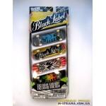 Набор из 4-х фингербордов Tech Deck Exclusive Black Label