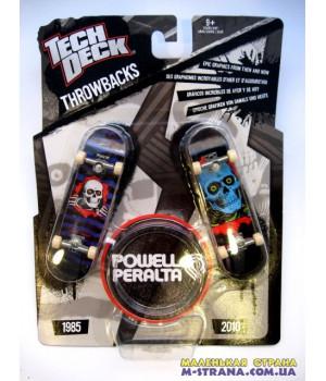 Раритетный и современный фингерборды Teck Deck Throwbacks Powell Peralta