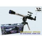 Телескоп со штативом, алюминиевый корпус 35х56х175х