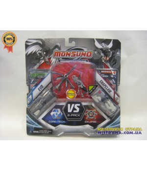 Игровой набор на 2 игрока фигурки Evo и Snapclaw  (Сombat 2-Packs) W4