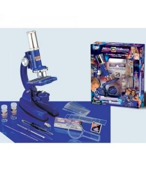 Микроскоп(100х450х900х)+наб.принадлежностей 36предметов