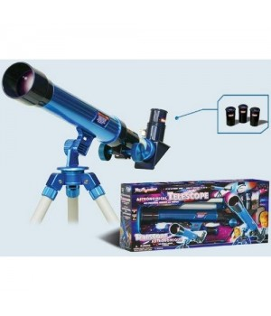 Телескоп 2301 20х,30х,40х со штативом