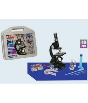 Микроскоп (100х600х1200х)в чемодане с набором принадлежностей