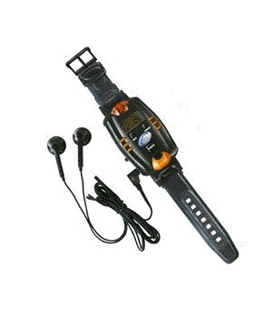 Часы с подслушивающим устройством и ручкой