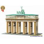 Пазлы 3D Бранденбургские ворота (324 детали+ акссесуары)