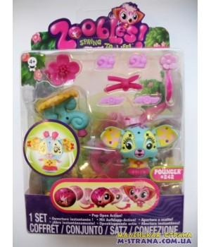 Набор Zoobles Парикмахерская Hairdoobles Pouncer №242