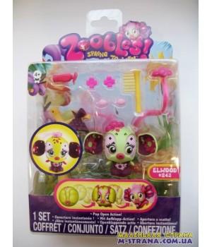 Набор Zoobles Парикмахерская Hairdoobles Elwood №243
