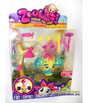 Набор Zoobles Парикмахерская Hairdoobles Nutalie №302