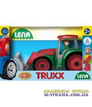 Трактор в коробке