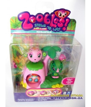 Набор Zoobles Twobles Jungleopolis Furley №273 и Walker №274