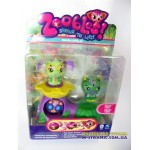 Набор Zoobles Twobles Jungleopolis Bowie №267 и Bubba №268