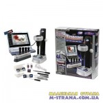 Микроскоп 100х300х450х900 с принадлежностями, CDR с драйверами и программным обеспечением