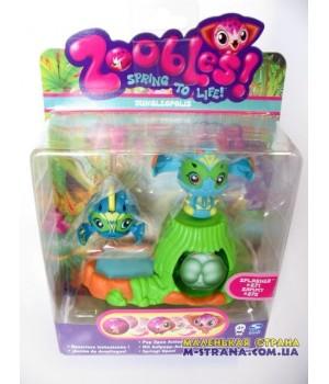 Набор Zoobles Twobles Jungleopolis Splasher №271 и Sammy №272