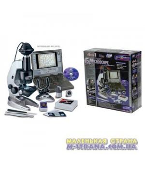 Микроскоп 4 в 1 100/200/450 с вебкамерой и металлическим держателем