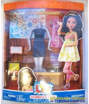 Набор для кукол Liv School's out Display