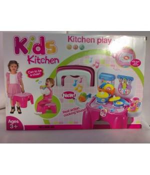 Игровой набор 2в1 Кухня-стульчик 008-93