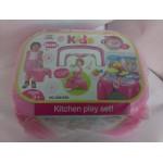 Игровой набор 2в1 Кухня-стульчик без коробки 008-93A