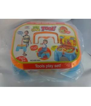 Игровой набор 2в1 Механик-стульчик без коробки 008-96A